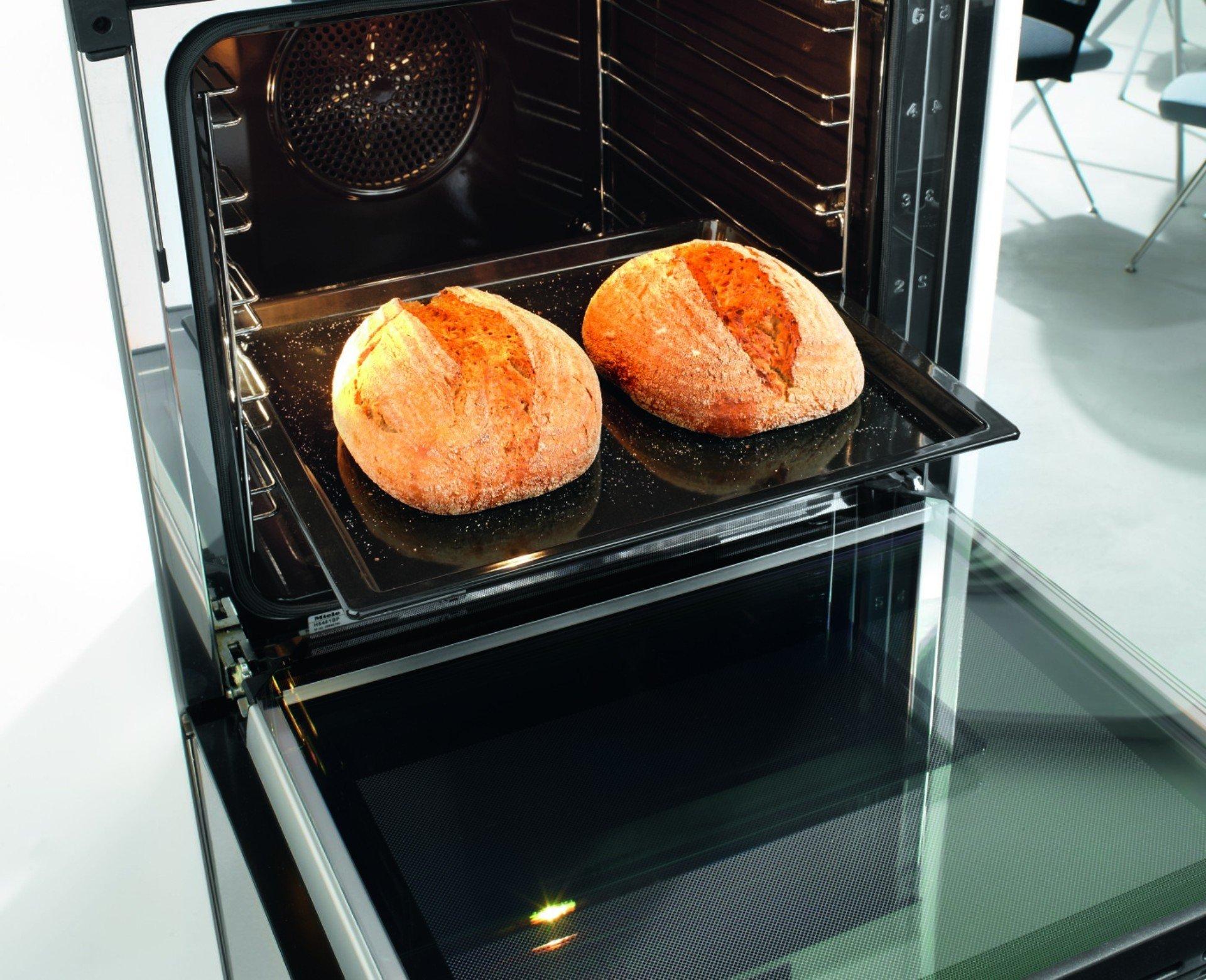 brood bakken in combi stoomoven