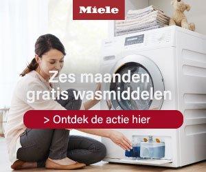 Zes maanden gratis wasmiddelen