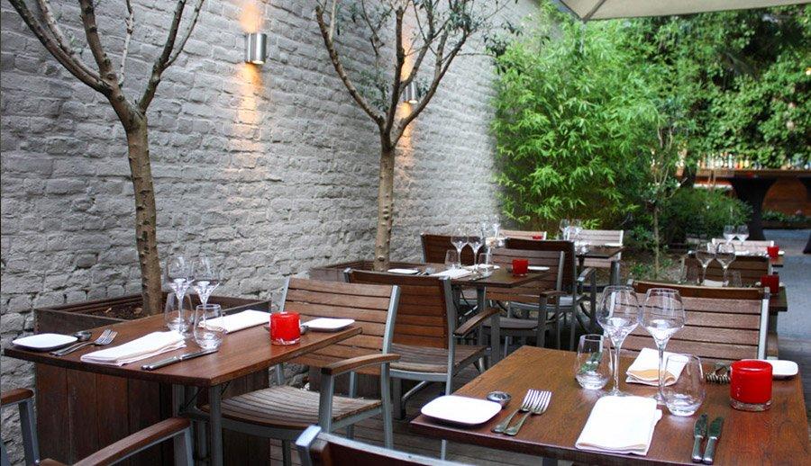 Terrasse Jardin Restaurant Bruxelles Mailleraye Fr Jardin